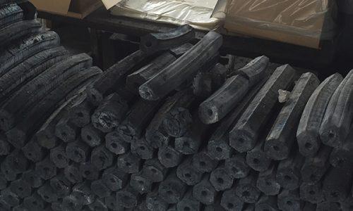 Sawdust briquettes charcoal1